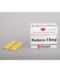 Sibutral (sibutramine), Réductil, Reduce, Meridia, 100x15mg