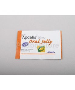 Cialis en gel, Apcalis, Oral Jelly (India), tadalafil, 20 mg/sachet