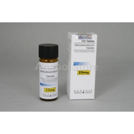 Methyl-testosterone, Agovirin, 100x25mg Genesis