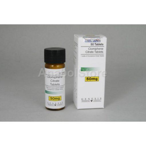 Clomid, Ovinum Clomiphene Citrate 50x50mg Genesis