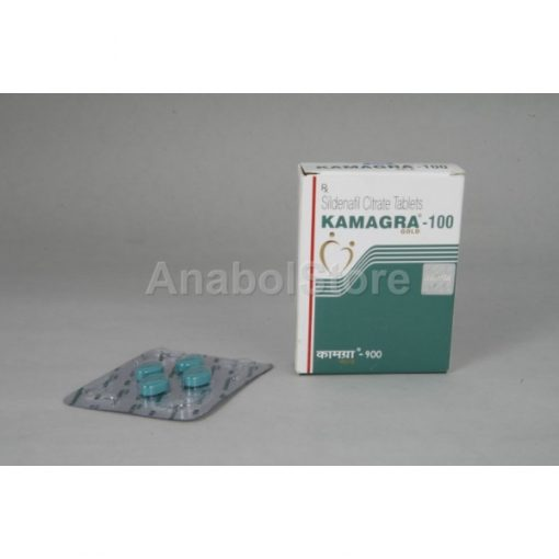 Kamagra Gold green (India), sildenafil citrate, Viagra generic, 4x100mg