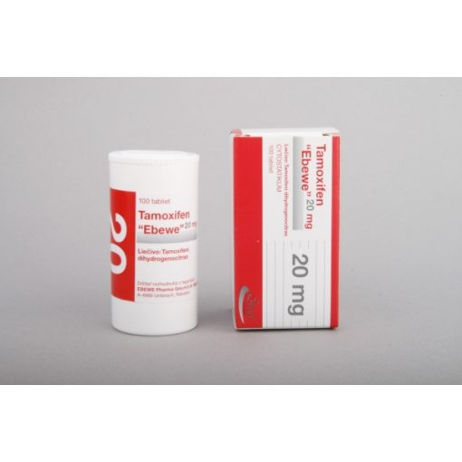 Nolvadex, Tamoxifen Citrate Ebewe, 100x20mg